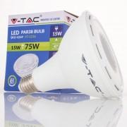 Lâmpada LED E27 PAR38 15w»75W Luz Natural 1000Lm 40º
