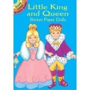 Little King and Queen Sticker Paper Dolls by Robbie Stillerman