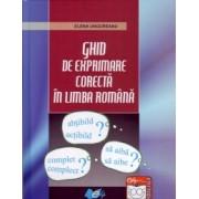 Ghid de exprimare corecta in limba romana
