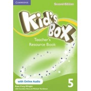 Kid's Box Level 5 Teacher's Resource Book with Online Audio: Level 5 by Kate Cory-Wright