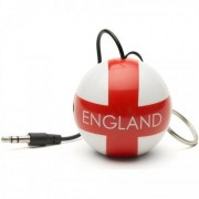 Boxa portabila KitSound Mini Buddy 2W England Football