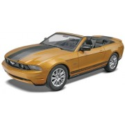 Revell Monogram SnapTite 1/25 2010 Ford Mustang GT Convertible # 85-1963
