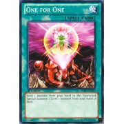 Yu-Gi-Oh! - One for One (SDBE-EN027) - Structure Deck: Saga of Blue-Eyes White Dragon - Unlimited Edition - Common by Yu-Gi-Oh!