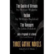 Three Gothic Novels by Horace Walpole