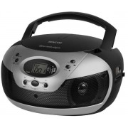 Micro Sitem Sencor SPT 229, CD/MP3 Player, Radio AM/FM (Negru/Argintiu)