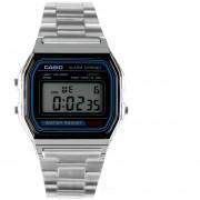 Reloj Casio Pulso Vintage Digital A158WA-1DF-Plateado