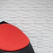 Mozaic Marmura Thassos 3D Lines V2 Polisata