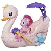 My Little Pony Friendship is Magic Pinkie Pie Row & Ride Swan Boat Set