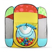 Toydaloo Indoor/Outdoor Ball-Pit Play Tent Includes 100 Play Balls Carrying Bag