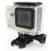 Camera Video De Actiune Easypix GoXtreme Vision, Filmare 4K Ultra HD, 12 MP, WiFi, Waterproof (Argintiu)