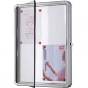Bacheca per interni Nobo - a finestra - 8xA4 - 97x3,7x69 cm - orizzontale - 1902559 - 182565 - Nobo