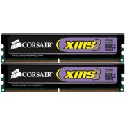 Corsair TWIN2X2048-6400 XMS2 2GB (2x1GB) DDR2 800 Mhz CL5 Mémoire pour ordinateur de bureau performante.