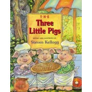 The Three Little Pigs by Steven Kellogg