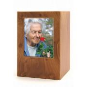 Houten Photobox Urn (3.5 liter)