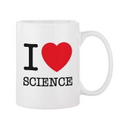 """Taza """"I Love Science"""""""