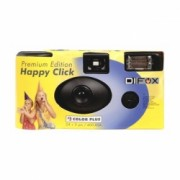 """Happy Click Color Plus flash 400 24+3 - Aparat unica folosinta """"Happy Click"""""""