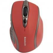 Безжична оптична мишка Safari MM-675, 6 бутона, 800/ 1200/ 1600 dpi, Червена, 52676