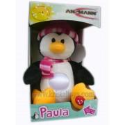 Нощна лампа - плюшена играчка Паула