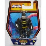 DC Batman Brave and the Bold Action League Mini Figure Batman with Silver Gas Mask by MATTEL