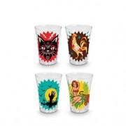 Copos de Tequila Shot Classicos do Boteco - 4 pecas
