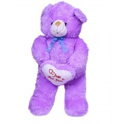 Shopsmeade Cute Purple Teddy Soft Toys 55 cm | Kids Girls Boys Child Toys | Gifts for Boyfriend Girlfriend Fiance Spouse Friends Him Her Men Girl Birthday Anniversary Everyday Gift Soft Toys | Plush Toys | Animal Soft Toys