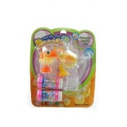 Dolphin Bubble Blowing Gun -LED with 2 Bottles of Bubbles(no batteries required) 100% NON TOXIC
