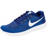 Nike Free RN 2 Running Hardloopschoenen blauw/wit 2017 Anti-pronatie