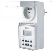 Spínacie hodiny pre elektrickú zásuvku na vonkajšie použitie IP44