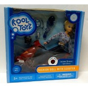 Kool Toys 2005 Fashion Doll with Scooter