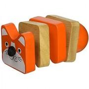 Manhattan Toy Click-Clack Cat Wooden Clutching Toy