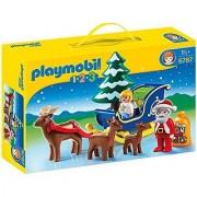 Playmobil Santa Claus With Reindeer Sleigh Playset