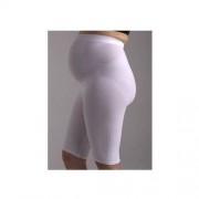 CzSalus (Włochy) BOXER PRE-MAMAN (od 7-9 m-ca)-szorty-majtki z nanoSREBREM z pasywnym masażem antycellulitowym dla kobiet w ciąży:białe, beżowe, czarne - CzSalus