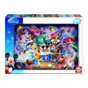 Educa Disney Mickey egér álma puzzle, 1000 darabos
