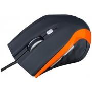 Mouse Optic Modecom M5 (Negru/Portocaliu)
