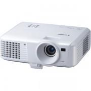 Videoproiector Canon LV-S300 : SVGA, 2 porturi VGA, difuzor incorporat - White