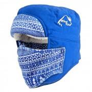 Wind Tour Outdoor Ciclismo Senderismo Alpinismo Windproof Sombrero de nieve caliente - Azul