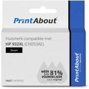 HP 932XL (CN053AE) inkjet zwart Huismerk