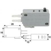GI 09008 Mikrokapcsoló on-on 4A 250V AC