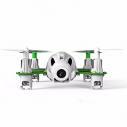 Aeiolw Hubsan H111D Q4 5.8G Mini FPV Quadcopter Drone With 720P HD Camera RC Nano Quadcopter RTF Mode 2 White