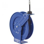 Coxreels Performance Series Compact Hose Reel - With 3/8 Inch x 25Ft. PVC Hose for Oil, Max. 3,000 PSI, Model P-MP-325
