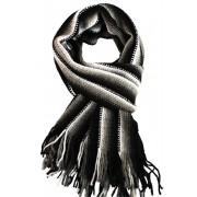 Carlos the Black zimní šála černá