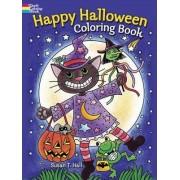 Happy Halloween Coloring Book by Susan Hall