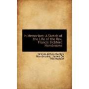 In Memoriam by Orinda Althea Dud Hornbrooke