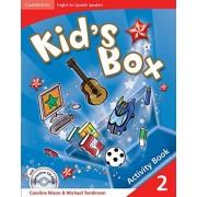 Caroline Nixon Kid's Box for Spanish Speakers 2 Activity Book with CD-ROM and Language Portfolio