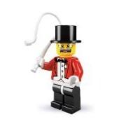LEGO Minifiguras Coleccionables: Jefe De Pista De Circo Minifigura (Serie 2) (Bolsas)