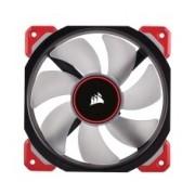Ventilador Corsair Air ML120 PRO LED Rojo de Levitación Magnética, 120mm, 400-2400RPM, Negro