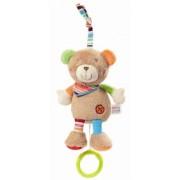 "Fehn La mini-peluche musicale ""Teddy"" , brun"