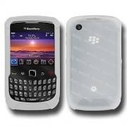 Amzer AMZ89324 Silicone Skin Jelly Case for BlackBerry Curve 3G 9300 and BlackBerry Curve 8520 (Transparent White)