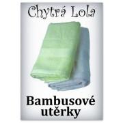 Chytrá Lola - Bambusové utěrky 2ks (BU01)