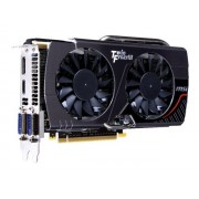 MSI N650Ti TF 2GD5/OC BE - Carte graphique - GF GTX 650 Ti Boost - 2 Go GDDR5 - PCIe 3.0 x16 - 2 x DVI, HDMI, DisplayPort